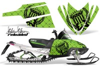Arctic-Cat-M-Series-AMR-Graphics-Kit-RELOADED-GREEN