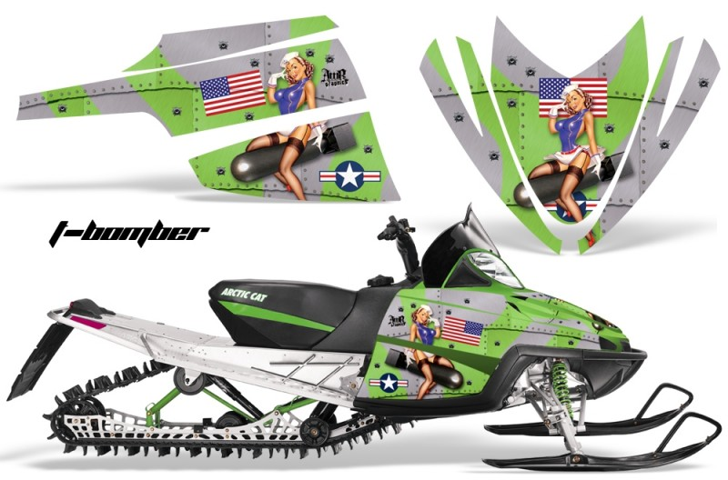 Arctic-Cat-M-Series-AMR-Graphics-Kit-TBOMBER-GREEN