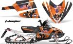 Arctic Cat M Series AMR Graphics Kit TBOMBER ORANGE 150x90 - Arctic Cat M Series Crossfire Graphics