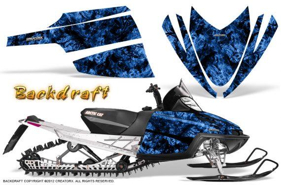 Arctic Cat M Series CrossFire CreatorX Graphics Kit Backdraft Blue 570x376 - Arctic Cat M Series Crossfire Graphics