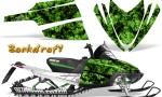 Arctic Cat M Series CrossFire CreatorX Graphics Kit Backdraft Green 150x90 - Arctic Cat M Series Crossfire Graphics