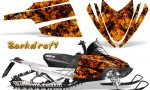 Arctic Cat M Series CrossFire CreatorX Graphics Kit Backdraft Orange 150x90 - Arctic Cat M Series Crossfire Graphics