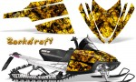 Arctic Cat M Series CrossFire CreatorX Graphics Kit Backdraft Yellow 150x90 - Arctic Cat M Series Crossfire Graphics