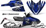 Arctic Cat M Series CrossFire CreatorX Graphics Kit Bolt Thrower Blue 150x90 - Arctic Cat M Series Crossfire Graphics