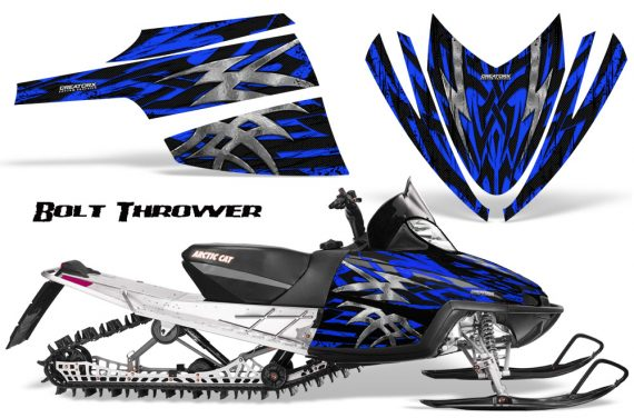 Arctic Cat M Series CrossFire CreatorX Graphics Kit Bolt Thrower Blue 570x376 - Arctic Cat M Series Crossfire Graphics