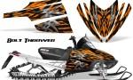 Arctic Cat M Series CrossFire CreatorX Graphics Kit Bolt Thrower Orange 150x90 - Arctic Cat M Series Crossfire Graphics