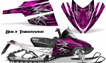 Arctic Cat M Series CrossFire CreatorX Graphics Kit Bolt Thrower Pink 150x90 - Arctic Cat M Series Crossfire Graphics