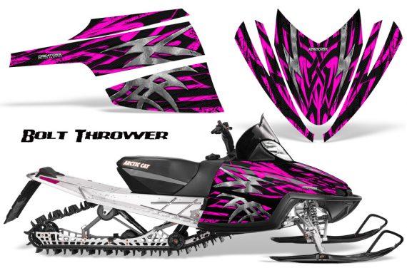 Arctic Cat M Series CrossFire CreatorX Graphics Kit Bolt Thrower Pink 570x376 - Arctic Cat M Series Crossfire Graphics