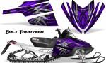 Arctic Cat M Series CrossFire CreatorX Graphics Kit Bolt Thrower Purple 150x90 - Arctic Cat M Series Crossfire Graphics