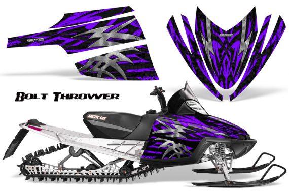 Arctic Cat M Series CrossFire CreatorX Graphics Kit Bolt Thrower Purple 570x376 - Arctic Cat M Series Crossfire Graphics