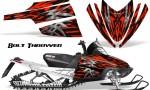 Arctic Cat M Series CrossFire CreatorX Graphics Kit Bolt Thrower Red 150x90 - Arctic Cat M Series Crossfire Graphics