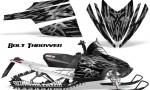 Arctic Cat M Series CrossFire CreatorX Graphics Kit Bolt Thrower Silver 150x90 - Arctic Cat M Series Crossfire Graphics