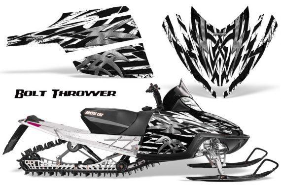 Arctic Cat M Series CrossFire CreatorX Graphics Kit Bolt Thrower White 570x376 - Arctic Cat M Series Crossfire Graphics