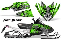 Arctic-Cat-M-Series-CrossFire-CreatorX-Graphics-Kit-Fire-Blade-Black-Green