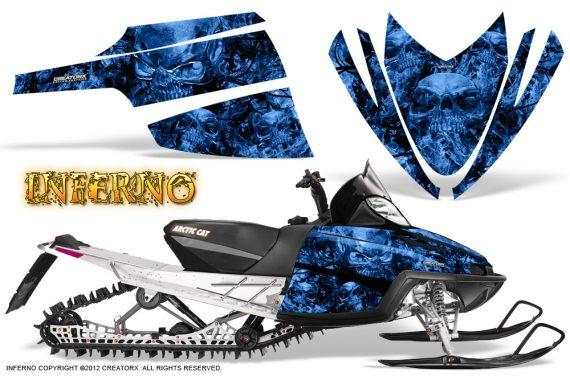Arctic Cat M Series CrossFire CreatorX Graphics Kit Inferno Blue 570x376 - Arctic Cat M Series Crossfire Graphics