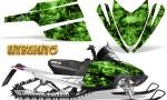 Arctic Cat M Series CrossFire CreatorX Graphics Kit Inferno Green 150x90 - Arctic Cat M Series Crossfire Graphics