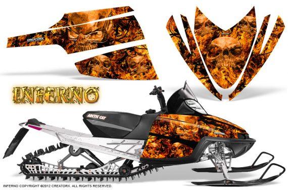 Arctic Cat M Series CrossFire CreatorX Graphics Kit Inferno Orange 570x376 - Arctic Cat M Series Crossfire Graphics