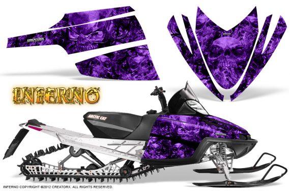 Arctic Cat M Series CrossFire CreatorX Graphics Kit Inferno Purple 570x376 - Arctic Cat M Series Crossfire Graphics