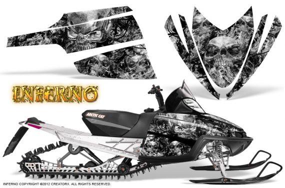 Arctic Cat M Series CrossFire CreatorX Graphics Kit Inferno Silver 570x376 - Arctic Cat M Series Crossfire Graphics