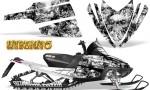 Arctic Cat M Series CrossFire CreatorX Graphics Kit Inferno White 150x90 - Arctic Cat M Series Crossfire Graphics