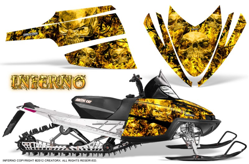 Arctic-Cat-M-Series-CrossFire-CreatorX-Graphics-Kit-Inferno-Yellow