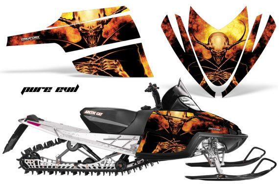 Arctic Cat M Series CrossFire CreatorX Graphics Kit Pure Evil 570x376 - Arctic Cat M Series Crossfire Graphics