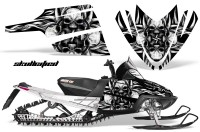 Arctic-Cat-M-Series-CrossFire-CreatorX-Graphics-Kit-Skullcified-Flat-Silver