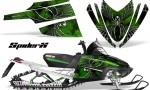Arctic Cat M Series CrossFire CreatorX Graphics Kit SpiderX Green 150x90 - Arctic Cat M Series Crossfire Graphics