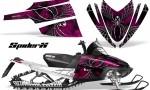 Arctic Cat M Series CrossFire CreatorX Graphics Kit SpiderX Pink 150x90 - Arctic Cat M Series Crossfire Graphics