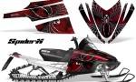 Arctic Cat M Series CrossFire CreatorX Graphics Kit SpiderX Red 150x90 - Arctic Cat M Series Crossfire Graphics