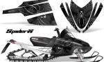 Arctic Cat M Series CrossFire CreatorX Graphics Kit SpiderX Silver 150x90 - Arctic Cat M Series Crossfire Graphics