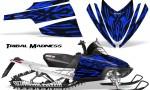 Arctic Cat M Series CrossFire CreatorX Graphics Kit Tribal Madness Blue 150x90 - Arctic Cat M Series Crossfire Graphics