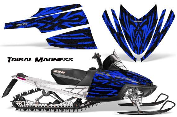 Arctic Cat M Series CrossFire CreatorX Graphics Kit Tribal Madness Blue 570x376 - Arctic Cat M Series Crossfire Graphics