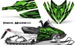 Arctic Cat M Series CrossFire CreatorX Graphics Kit Tribal Madness Green 150x90 - Arctic Cat M Series Crossfire Graphics