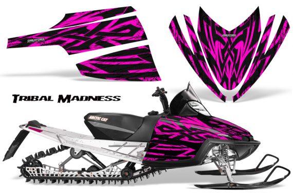 Arctic Cat M Series CrossFire CreatorX Graphics Kit Tribal Madness Pink 570x376 - Arctic Cat M Series Crossfire Graphics