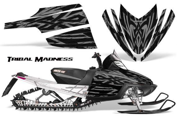 Arctic Cat M Series CrossFire CreatorX Graphics Kit Tribal Madness Silver 570x376 - Arctic Cat M Series Crossfire Graphics