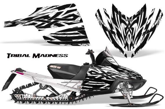 Arctic Cat M Series CrossFire CreatorX Graphics Kit Tribal Madness White 570x376 - Arctic Cat M Series Crossfire Graphics