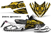 Arctic-Cat-M-Series-CrossFire-CreatorX-Graphics-Kit-Tribal-Madness-Yellow