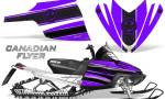 Arctic Cat M Series CrossFire Graphics Kit Canadian Flyer Black Purple 150x90 - Arctic Cat M Series Crossfire Graphics