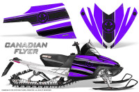 Arctic-Cat-M-Series-CrossFire-Graphics-Kit-Canadian-Flyer-Black-Purple