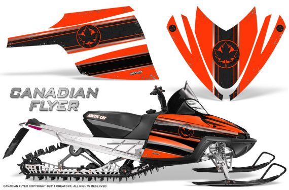 Arctic-Cat-M-Series-CrossFire-Graphics-Kit-Canadian-Flyer-Black-Red