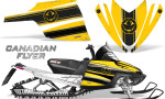 Arctic Cat M Series CrossFire Graphics Kit Canadian Flyer Black Yellow 150x90 - Arctic Cat M Series Crossfire Graphics