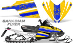 Arctic Cat M Series CrossFire Graphics Kit Canadian Flyer Blue Yellow 150x90 - Arctic Cat M Series Crossfire Graphics