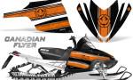 Arctic Cat M Series CrossFire Graphics Kit Canadian Flyer Orange Black 150x90 - Arctic Cat M Series Crossfire Graphics