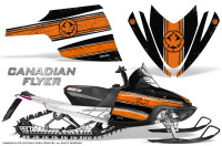 Arctic-Cat-M-Series-CrossFire-Graphics-Kit-Canadian-Flyer-Orange-Black