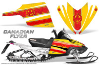 Arctic-Cat-M-Series-CrossFire-Graphics-Kit-Canadian-Flyer-Red-Yellow