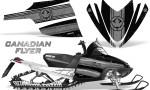 Arctic Cat M Series CrossFire Graphics Kit Canadian Flyer Silver Black 150x90 - Arctic Cat M Series Crossfire Graphics