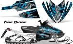 Arctic Cat M Series CrossFire Graphics Kit Fire Blade BlueIce Black 150x90 - Arctic Cat M Series Crossfire Graphics