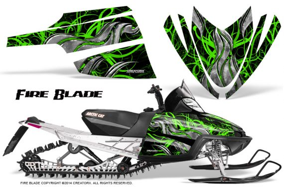 Arctic-Cat-M-Series-CrossFire-Graphics-Kit-Fire-Blade-Green-Black