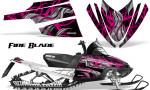 Arctic Cat M Series CrossFire Graphics Kit Fire Blade Pink Black 150x90 - Arctic Cat M Series Crossfire Graphics